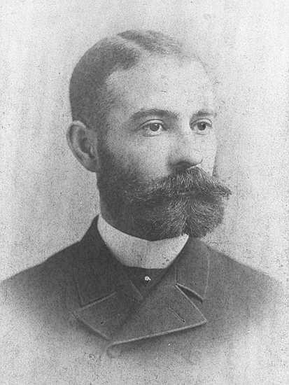 Black and White Image of Daniel Hale Williams